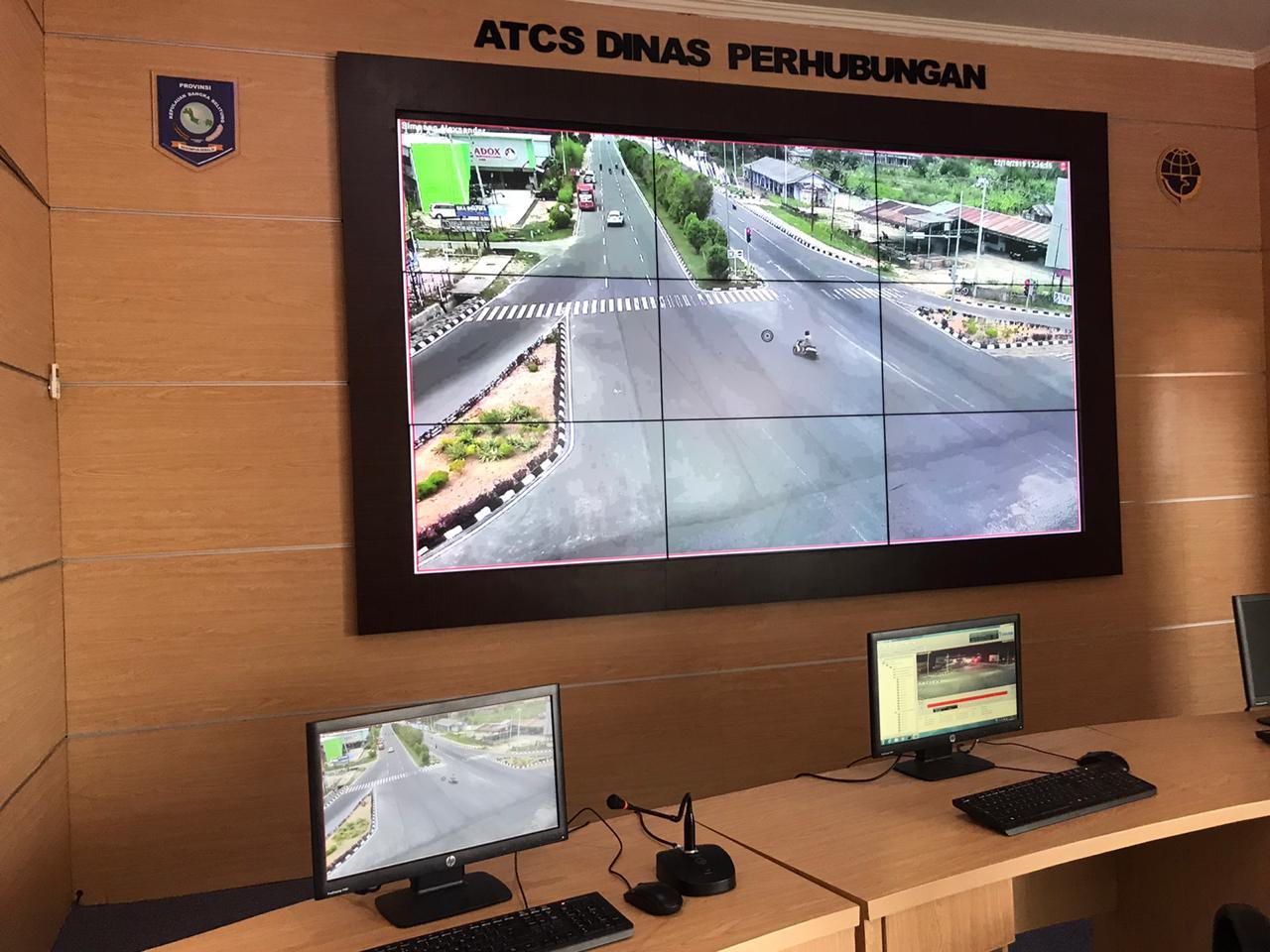 Gedung baru ATCS dan penambahan sarana baru VOICE
